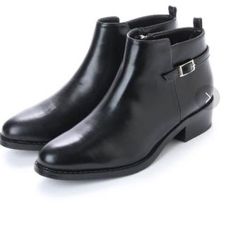 イーボル(EVOL)のEVOL サイドベルトショートブーツ 24.5cm(ブーツ)