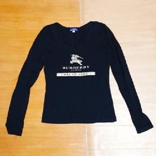 バーバリーブルーレーベル(BURBERRY BLUE LABEL)のバーバリー ブルーレーベル ロンT(Tシャツ(長袖/七分))