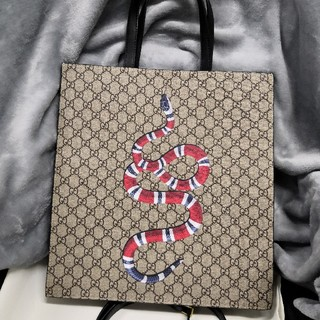 Gucci - GUCCI  トートバッグ 蛇 スネーク