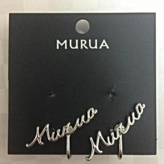 ムルーア(MURUA)の【新品】MURUA イヤリング カフ ロゴ 片耳(イヤリング)