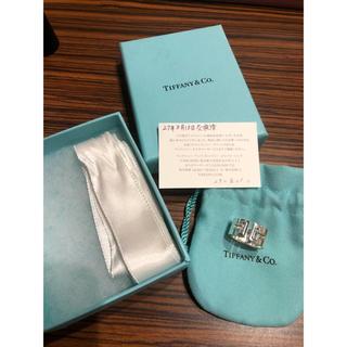 ティファニー(Tiffany & Co.)のティファニー   Tカットアウトリング Tシリーズ 指輪(リング(指輪))