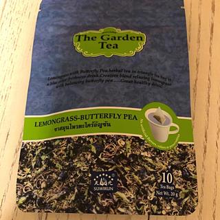 カルディ(KALDI)のガーデンティー レモングラスバタフライピー(茶)