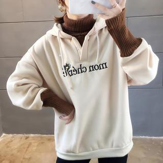 【新入荷☆】 パーカー セーター ニット BF オルチャン(ニット/セーター)