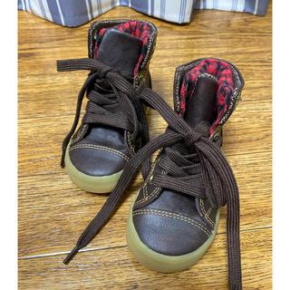 ギャップ(GAP)のキッズ GAP 茶色 ブーツ 12.5センチ(ブーツ)