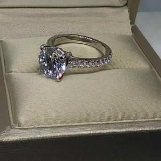 最高級合成ダイヤモンド/SONAダイヤモンド/3ct(リング(指輪))