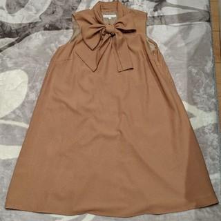 PROPORTION BODY DRESSING - プロポーションボディドレッシング キャメル ワンピース ジャンパースカート