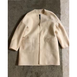 Drawer - DRAWERドゥロワー ★ノーカラー メルトン コート