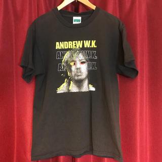 ANDREW W.K Tシャツ アンドリューW.K 古着 ロックTシャツ