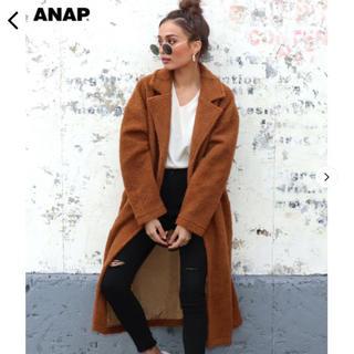 ANAP - 新品♡ ANAP ボアロングチェスターコート