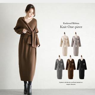 ZARA - ☆ ウエストマーク 大きいサイズ ロングワンピース チュニック ドレス
