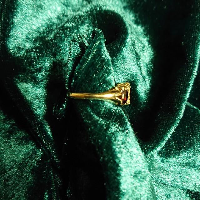 ヴィンテージ ガーネットリング レディースのアクセサリー(リング(指輪))の商品写真