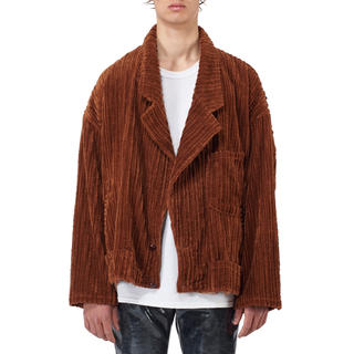 19AW doublet CORDUROY CUT-OFF JACKET