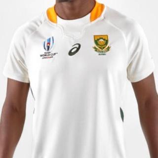 アシックス(asics)の南アフリカ ラグビーワールドカップ 海外M スプリングボクス アシックスジャージ(ラグビー)