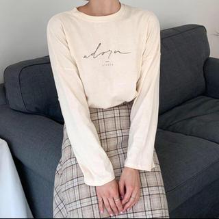 flower - プリントロゴTシャツ