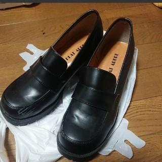 ヒラキ ローファー ヒール(ローファー/革靴)