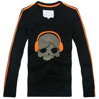HYDROGEN - ★正規品(22CT7478BL)ハイドロゲン メンズ 長袖Tシャツ【XL】