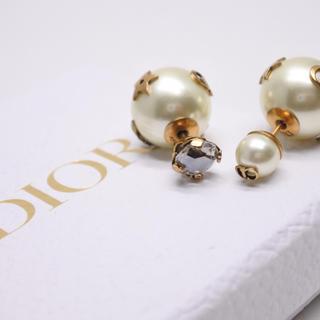 クリスチャンディオール(Christian Dior)のクリスチャンディオール 19AW ピアス Dior Tribales ゴールド(ピアス)