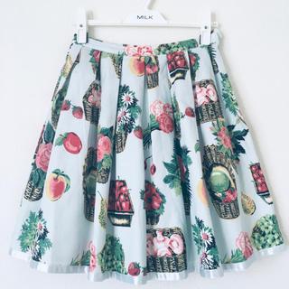 Emily Temple cute - 【エミリーテンプルキュート】フルーツバスケット柄スカート《サックス》