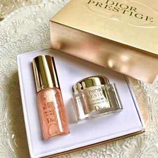 Dior - 【8,837円相当】プレステージ ラクレーム ユイルドローズ 専用BOX レア