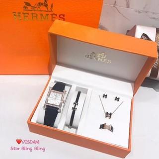 Hermes - Hermes腕時計、ブレスレット、ネックレ ス、指輪、イヤリング