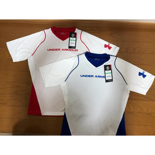 アンダーアーマー(UNDER ARMOUR)のアンダーアーマー キッズ 145-155㎝  Lサイズ 半袖シャツ2枚セット(Tシャツ/カットソー)