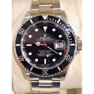 ロレックス(ROLEX)のROLEX ロレックス サブマリーナ デイト 16610 ルーレット(腕時計(アナログ))