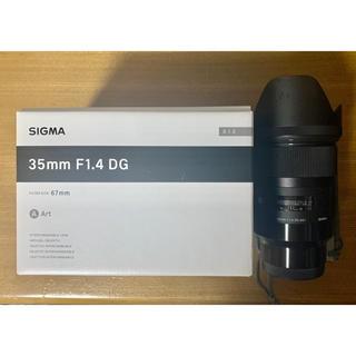 SIGMA - SIGMA 35mm F1.4 DG ソニーEマウント用 フルサイズ対応