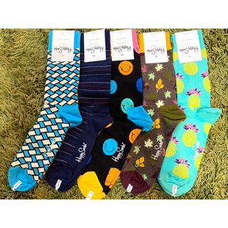 ビームス(BEAMS)のハッピーソックス happy socks 5足 定価7,150円(ソックス)