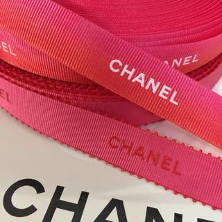 CHANEL - 2mです♡CHANEL リボン 可愛いピンク系