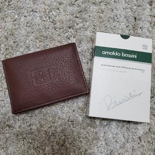 アーノルドバッシーニ カードケース 名刺入れ(名刺入れ/定期入れ)