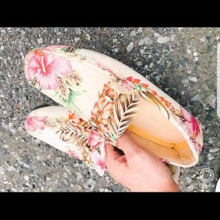 ダブル(DOWBL)のDADDY MACK DOWBL 靴(デッキシューズ)