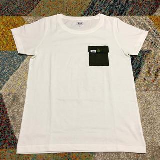 リー(Lee)のLee おしゃれポケット付 Tシャツ(Tシャツ(半袖/袖なし))