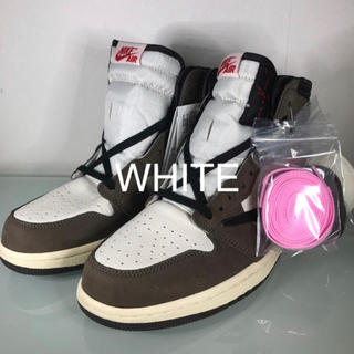 NIKE - NIKE AIR JORDAN 1 TRAVIS SCOTT トラビス 27.5