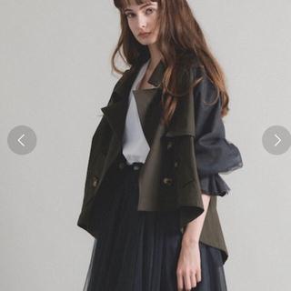 la belle Etude - 正規品!【LA BELLE ETUDE】ボリューム袖デザインショートトレンチ