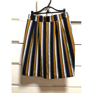アベイル(Avail)のアベイル♡ストライプ柄タイトスカート(ミニスカート)