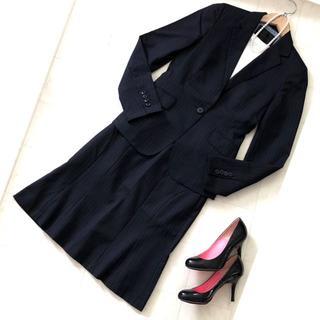 UNTITLED - UNTITLED アンタイトル スーツ スカート スーツ サイズ1/S 黒