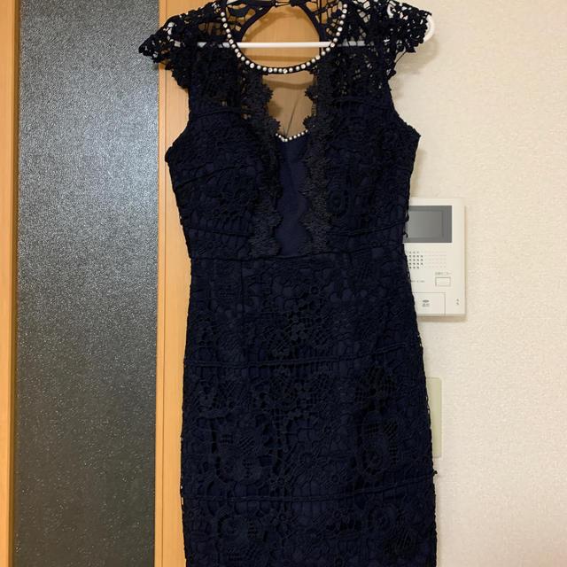 dazzy store(デイジーストア)のdazzy キャバドレス ネイビー レディースのフォーマル/ドレス(ナイトドレス)の商品写真