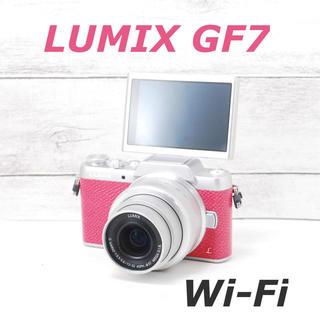Panasonic - ❤️希少ピンクカラー❤️Wi-Fi&自撮り❤️LUMIX GF7