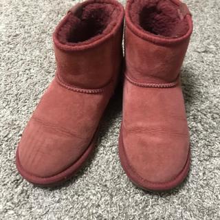 エミュー(EMU)のemu 大人ピンク24 サイズ7 (ブーツ)