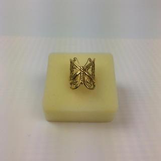 本物K18リング 美品 18金指輪 イエローゴールド 重さ:6.85g 10号(リング(指輪))