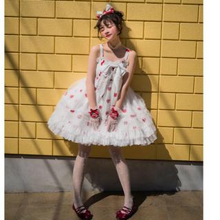 アンジェリックプリティー(Angelic Pretty)のZJstory ハート ジャンスカ ワンピース(ミニワンピース)