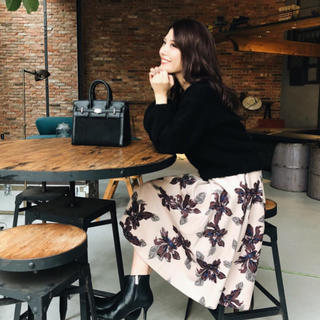 rienda - フラワースカート