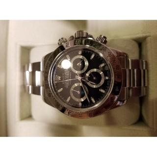 ロレックス(ROLEX)の② ロレックスデイトナ ブラック盤 116520 極美品!(腕時計(アナログ))