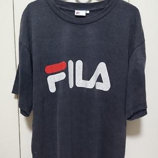 FILA - FILA フィラ Tシャツ デカロゴ ビックシルエット