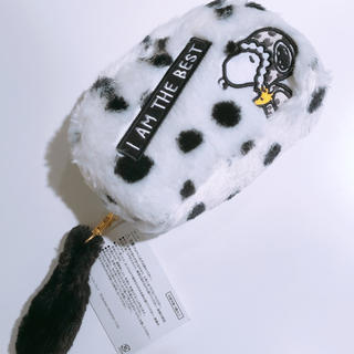 SNOOPY - 新品 スヌーピー ふわふわポーチ