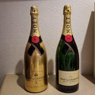 モエエシャンドン(MOËT & CHANDON)のエエシャンドンマグナムサイズのダミー2種。(シャンパン/スパークリングワイン)