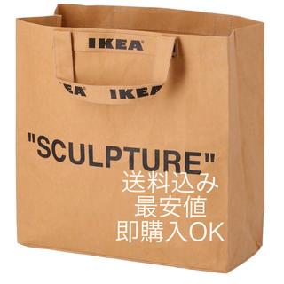 IKEA - 【最安値】ヴァージルアブロー x イケア マルケラッドショッピングバッグM