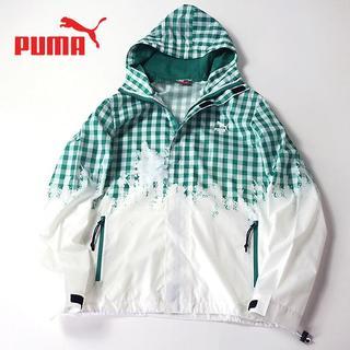 PUMA - PUMA プーマ ギンガムチェック◎フーディジャケット