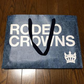 ロデオクラウンズ(RODEO CROWNS)のロデオクラウンズ  紙袋 大(ショップ袋)