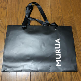 ムルーア(MURUA)のムルーア  紙袋 大(ショップ袋)